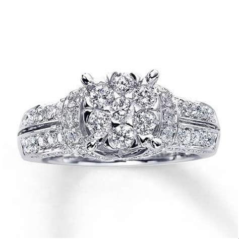 Kay Jewelers Diamond Engagement Ring   High Profile   Size