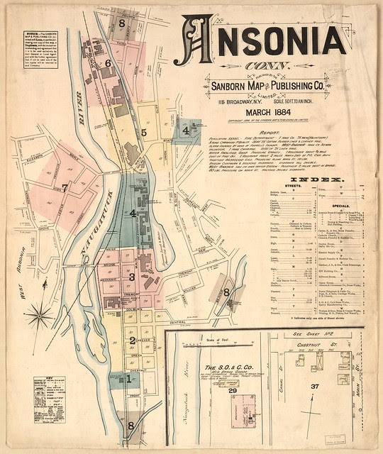 Ansonia, Connecticut March 1884
