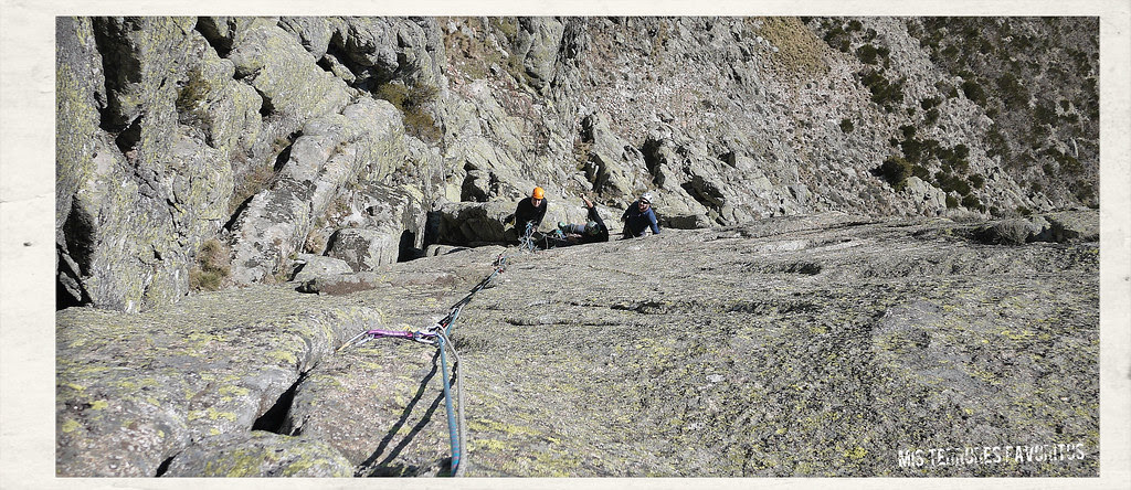 EL REY DEL HEY ...PASE Y VERÁ - 160 m ED sup (6b ob) - TOROZO NORTE