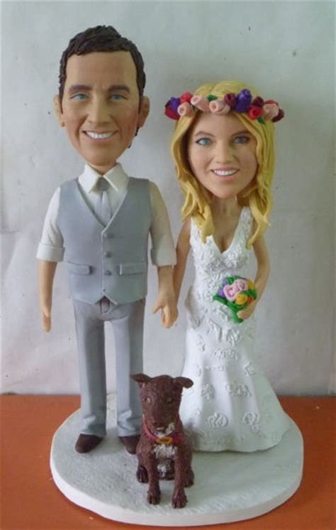 Custom Wedding Cake Toppers Personalized Made From Photos