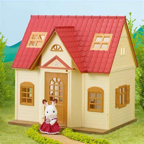 Sylvanian Families. Miniature Toys, Calico Critters. Kids