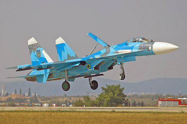 Другой взгляд. МиГ-29 и Су-27 на службе у бандеровцев