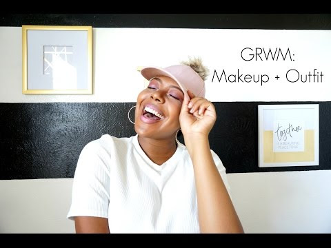 GRWM Makeup   Outfit