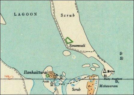 Ilangkaith-thu'rai map