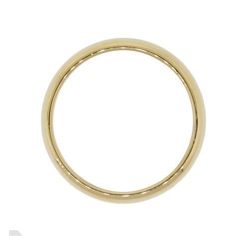 Tiffany & Co. 18k Yellow Gold 6mm Men's Wedding Band