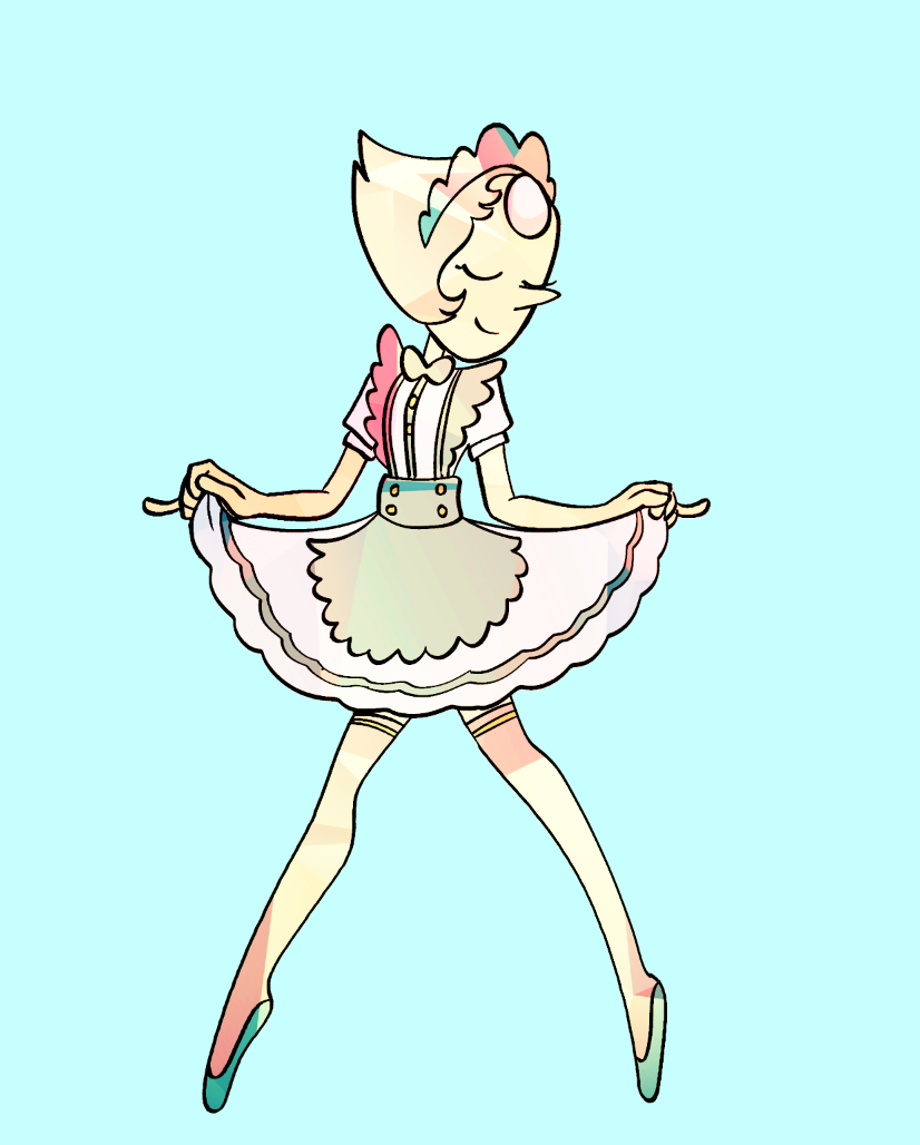 Daily Doodle 4/6 Pearl as a Maid