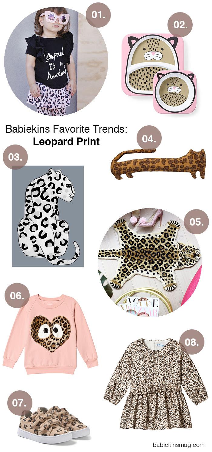 Babiekins Favorite Trends: Leopard Print | Babiekins Magazine