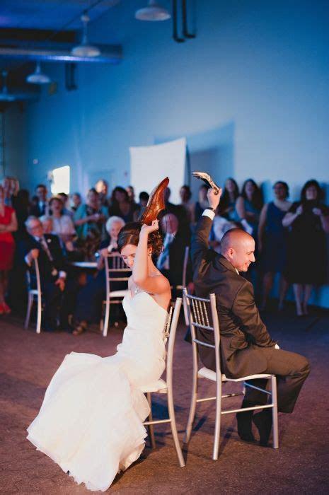 Fun wedding reception idea: The Shoe Game. Bride   groom
