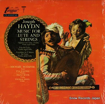 HAYDN, JOSEPH music for lute and strings