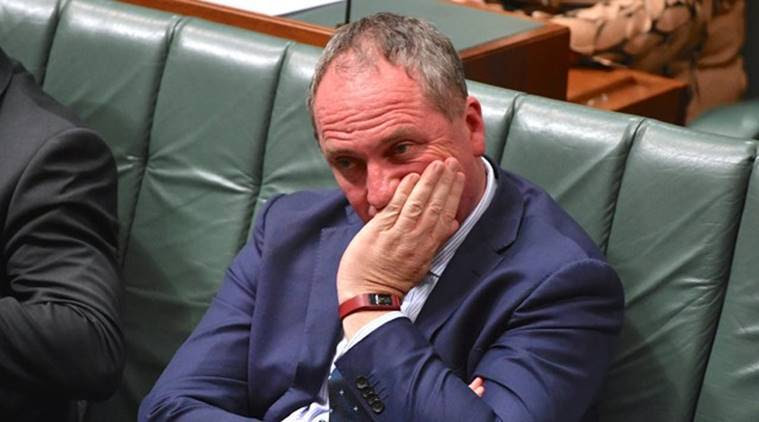 Australian Deputy Prime Minister Barnaby Joyce resigns after affair with staffer