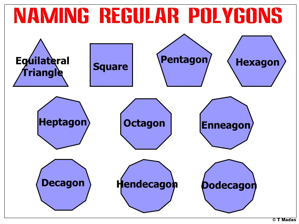 Pentagon+Equilateral+Hexagon+Triangle+Square+Heptagon+Octagon+Enneagon