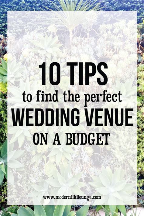 10 Tips to Find the Perfect Wedding Venue on a Budget