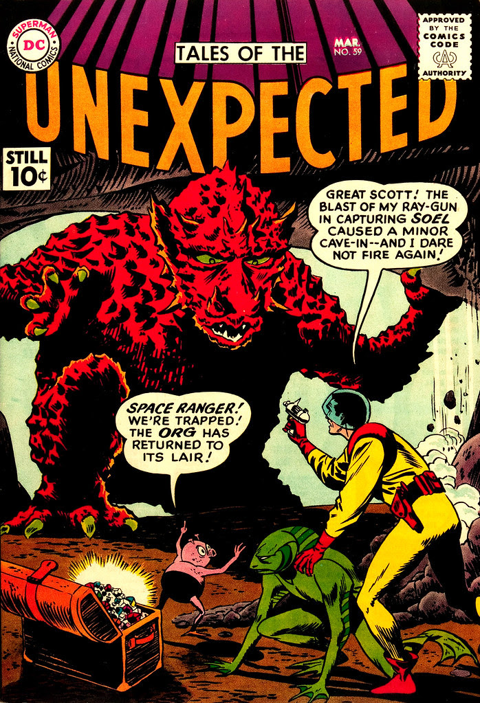 Tales of the Unexpected #59 (DC, 1961) Bob Brown cover