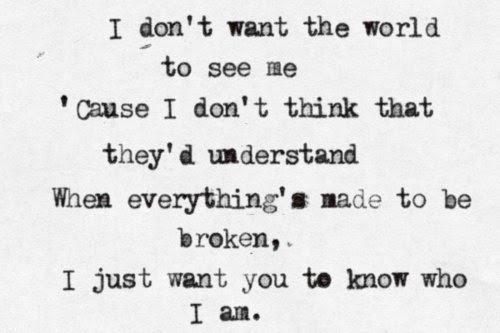 Love Hate Broken Depressive You Dont Understand Depressing Quotes