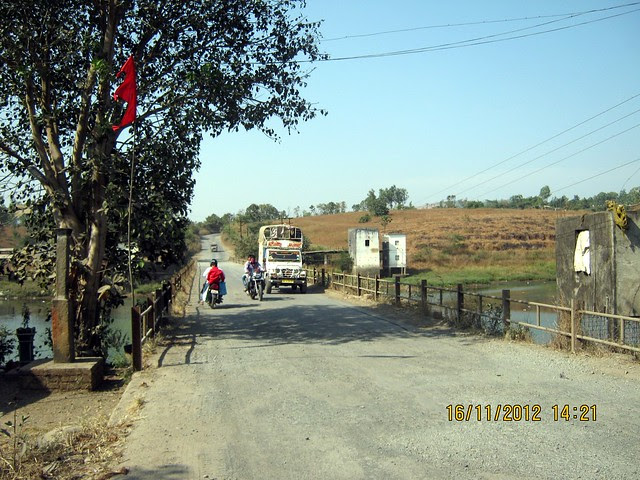Bridge on Indrayani River at Kanhe