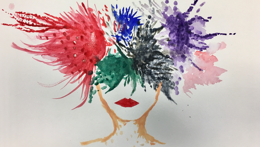 Art therapy helps students cope with stress - The Bona Venture