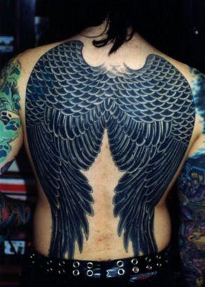 Angel Wings Man Tattoos Designs Image