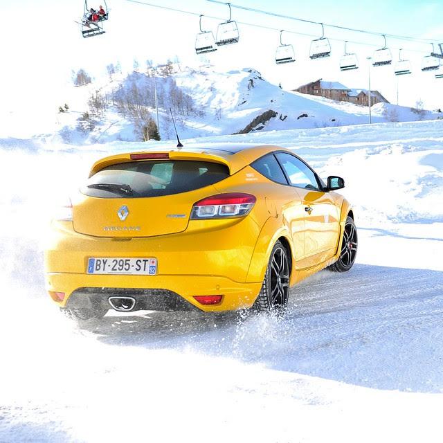 Renault Mégane RS @L'Alpe d'Huez