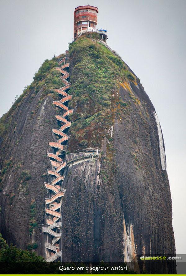 Escadaria anti sogra!