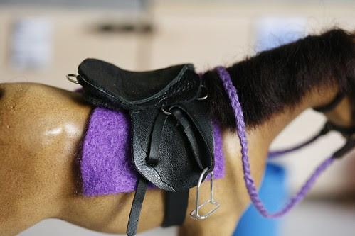 Rhu's New Saddle