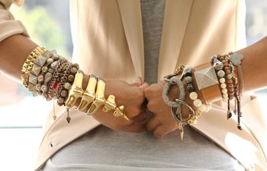 Resultado de imagem para pulseiras que estão na moda 2016
