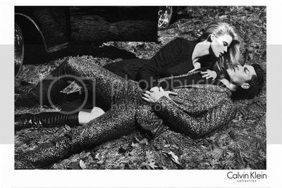 Lara Stone for Calvin Klein's Fall 2012 Campaign