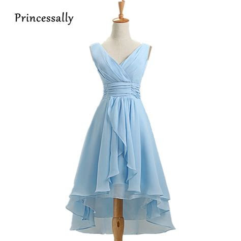 Aliexpress.com : Buy Light Sky Blue Bridesmaid Dress