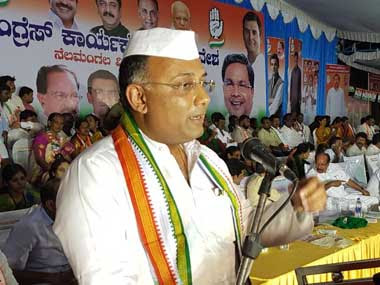 File image of Congress leader Dinesh Gundu Rao. Twitter@dineshgrao