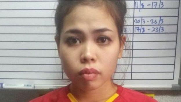 Nữ nghi phạm Siti Aisyah