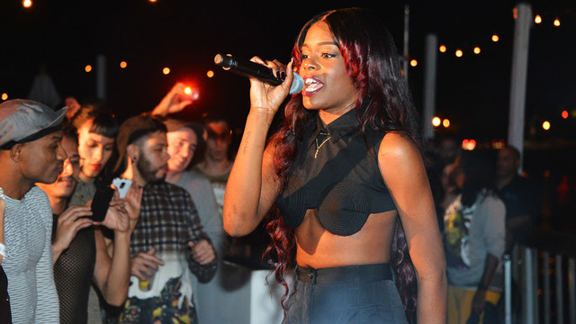 "Click here to read Azealia Banks Called Perez Hilton a ""Faggot,"" But That Doesn't Make Her a Homophobe"