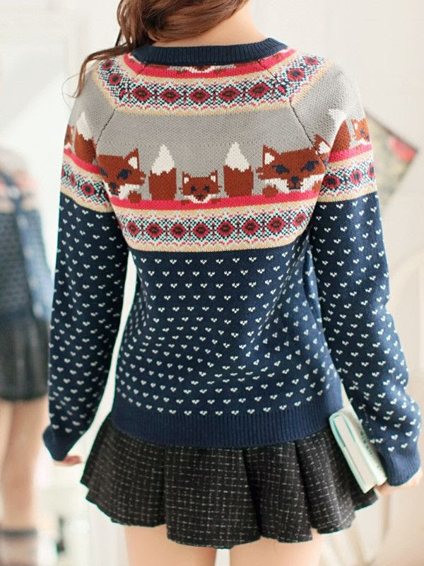 wild fox sweater $112 - what does the fox say?