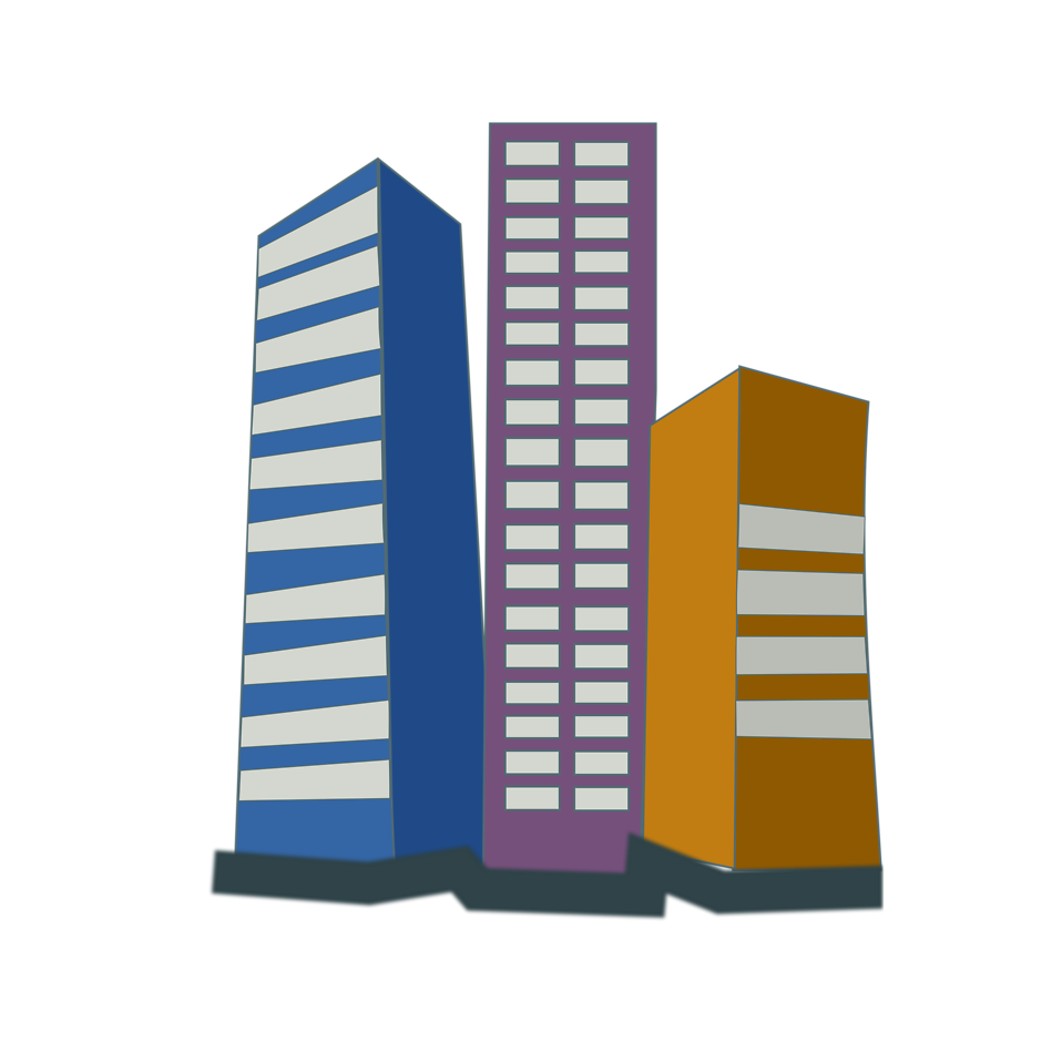 Buildings | Free Stock Photo | Illustration of office ...