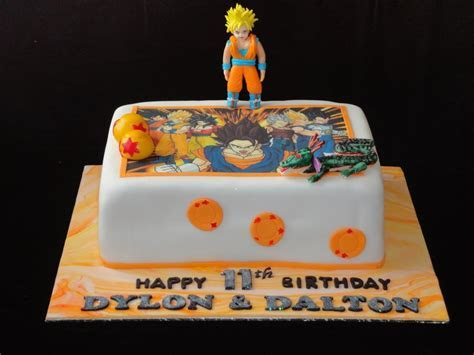 Dragon Ball Z Cake   CakeCentral.com