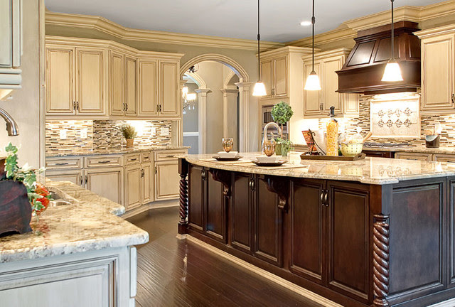 variety - traditional - kitchen cabinets - other metro - by ...