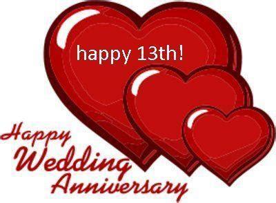 Happy 13 Year Anniversary   happy 13th wedding anniversary