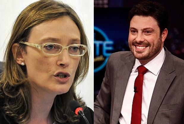 """Maria do Rosário rebate Danilo Gentili e promete processo: """"Criminoso"""""""