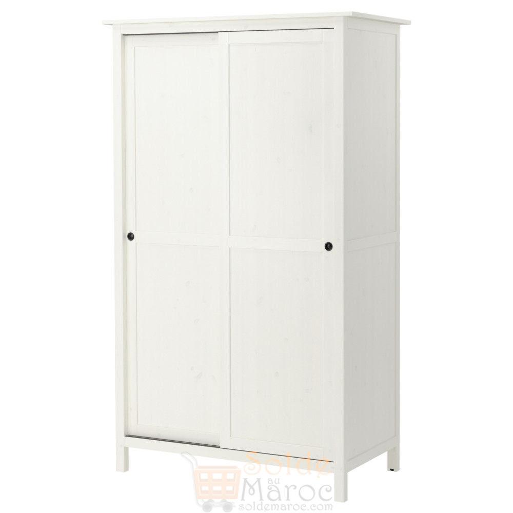 Armoire Ikea Blanche 2 Portes Coulissantes
