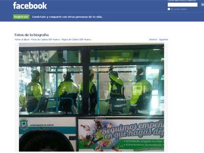 Captura de imagen del perfil de Facebook de la Cadena Ser de Huelva