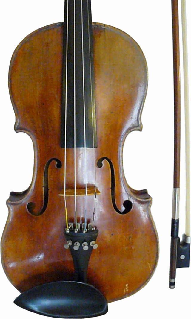 My violin (photographer: Michael McNeil)