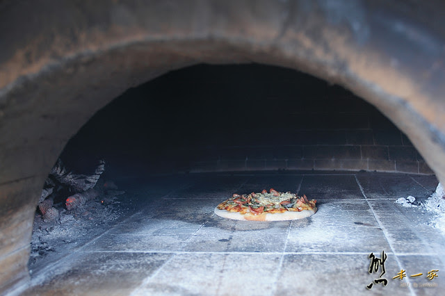 虫二小山|南投清境美食|虫二小山窯烤披薩