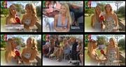 Melhor na Tv 2015/676 - Laura Figueiredo sexy no FamaShow