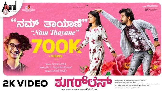 Nam Thayane Song lyrics - Sugarless Kannada movie song