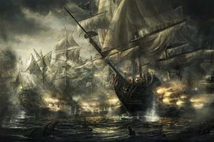 El objetivo de las torres era defenderse de los ataques piratas.