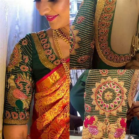 6 Beautiful Bride Blouse Design by Sohum Creations   South