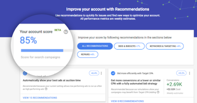 Google's Best Practices for Improving Your Google Ads Optimization Score by @MattGSouthern