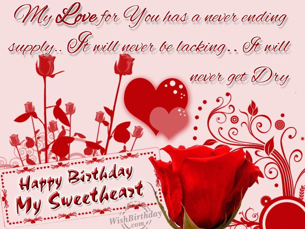 Happy Birthday My Sweetheart Pictures Photos And Images For
