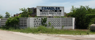 The entrance to Chandler Materials on 15th Street