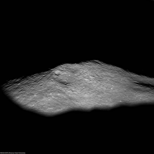 Icarus central peak (LROC NAC oblique)