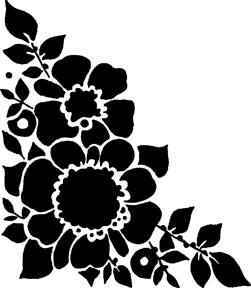 Free Flower Images Black And White Download Free Clip Art Free