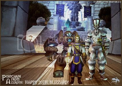 Postcards of Azeroth: Happy 20th Birthday to Blizzard, by Rioriel of theshatar.eu